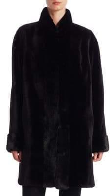 Zandra Rhodes Reversible Sheared Mink Jacket
