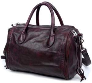 Old Trend Sunny Hill Leather Satchel Bag