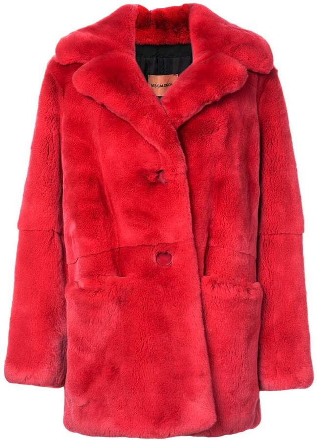mid-length Rex coat