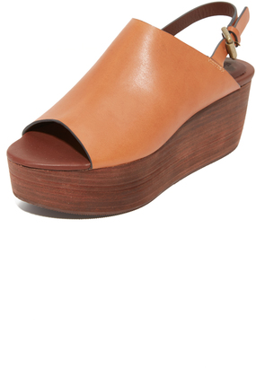 See by Chloe Lilly Flatform Sandals $320 thestylecure.com