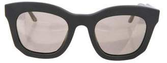 Stella McCartney Mirrored Lens Sunglasses