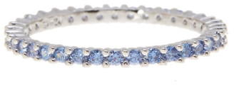 Swarovski Vittore Blue Crystal Detail Ring $75 thestylecure.com