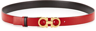 Salvatore Ferragamo Women's Adjustable & Reversible Belt