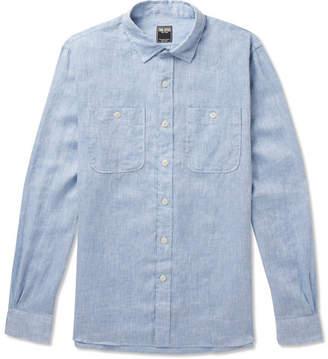 Todd Snyder Mélange Linen Shirt
