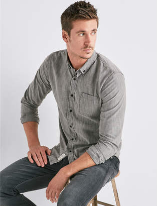 Lucky Brand ONE POCKET TAILORED SHIRT
