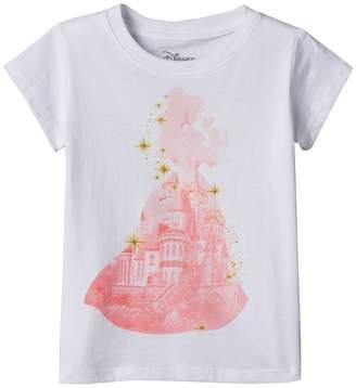 Disney Disney's Beauty & The Beast Belle Girls 4-6x Castle Tee
