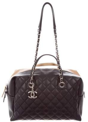 Chanel 2016 Feather Weight Bowling Bag