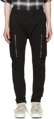 Helmut Lang Black Utility Cargo Pants $360 thestylecure.com