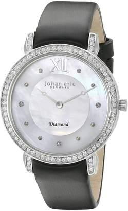 Johan Eric Women's JE7000-04-009.11 Ribe Analog Display Quartz Black Watch