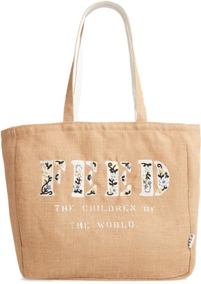 FEED Embroidered Tote