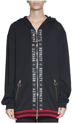 Fausto Puglisi Royality Oversized Cotton Hoodie