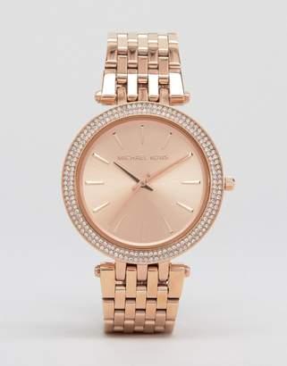 Michael Kors MK3192 Darci rose gold watch