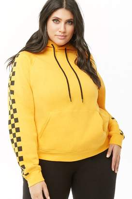 8fc17244a48 Forever 21 Yellow Plus Size Sweats   Hoodies - ShopStyle Canada