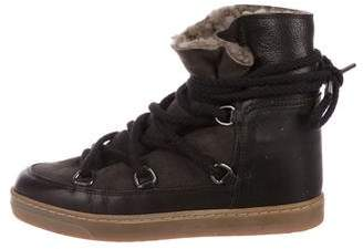 Isabel Marant Nowles Lace-Up Boots