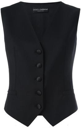 Dolce & Gabbana classic waistcoat $895 thestylecure.com