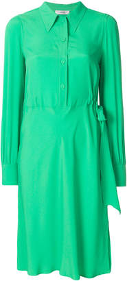 Mauro Grifoni gathered side shirt dress