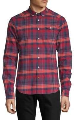 Scotch & Soda Brushed Cotton Flannel Shirt