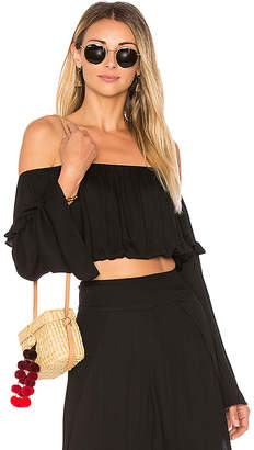 ale by alessandra X REVOLVE Malu Crop Top in Black $110 thestylecure.com