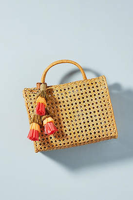 Serpui Marie Suzy Tasseled Box Bag