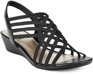 Impo Refresh Stretch Wedge Sandals $55 thestylecure.com