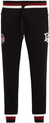 Dolce & Gabbana Logo-print cotton-blend track pants