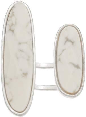 Bella Uno Oval Howlite Ring