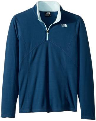 The North Face Kids Glacier 1/4 Zip Girl's Long Sleeve Pullover