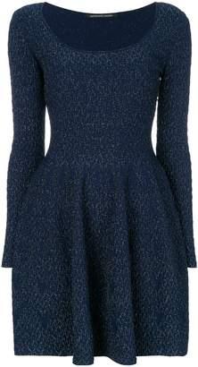 Valenti Antonino slim-fit scoop neck dress