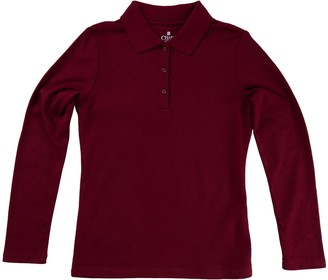 Chaps Girls 4-16 School Uniform Polo Shirt