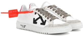 Off-White Off White Exclusive to Mytheresa Arrow 2.0 leather sneakers