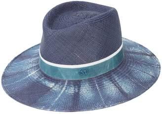 Maison Michel Charles bleached denim hat