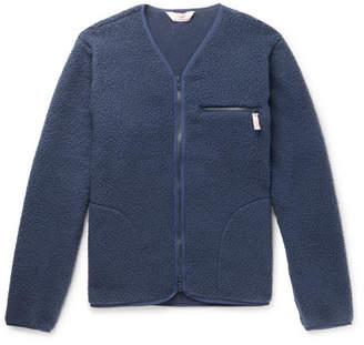 Battenwear Polartec Fleece Zip-Up Cardigan