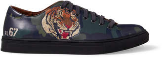 Polo Ralph Lauren Ralph Lauren Jermain Tiger Calfskin Sneaker