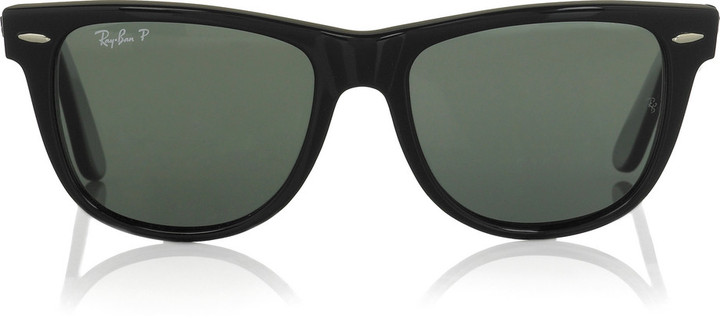 Ray-Ban Large Wayfarer acetate sunglasses