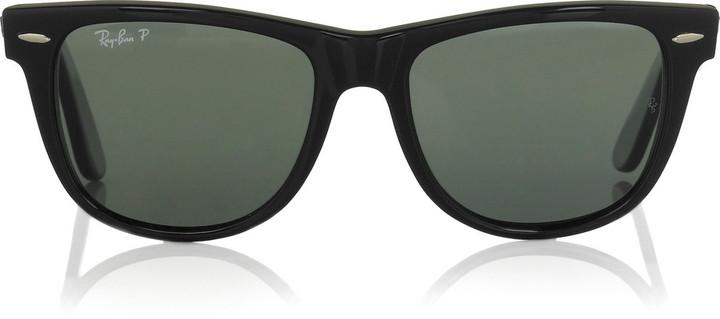 Ray-Ban Large Wayfarer acetate sunglasses