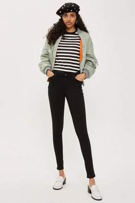 Topshop Tall Black Leigh Jeans