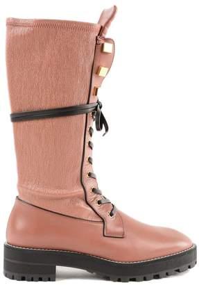 Stuart Weitzman Elspeth Turin Combat Boots