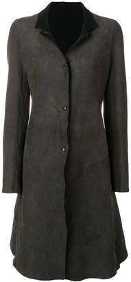 Isaac Sellam Experience panelled coat