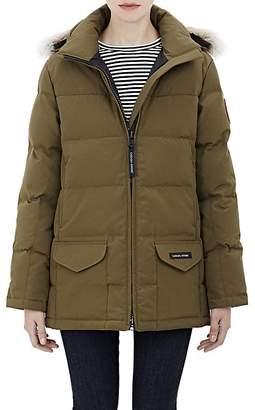 Canada Goose Women's Fur-Trimmed Solaris Parka $850 thestylecure.com
