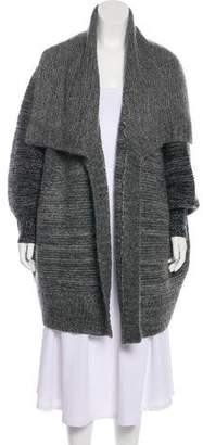 DKNY Wool-Blend Knit Cardigan