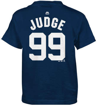 Majestic Aaron Judge New York Yankees Official Player T-Shirt, Little Boys (4-7)