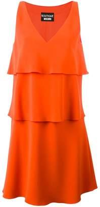 Moschino layered V-neck dress