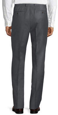 Luciano Barbera Wool Trouser Pants