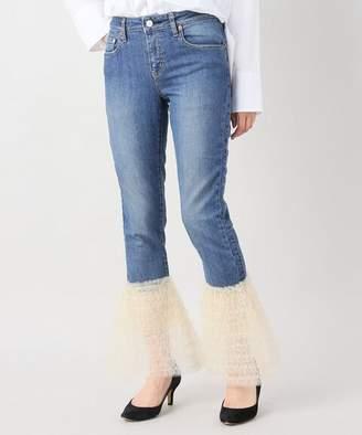 JOINT WORKS Tresor big tulle frill hem 3y jeans
