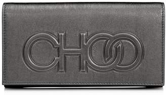 Jimmy Choo SANTINI Anthracite Metallic Nappa Santini Mini Bag