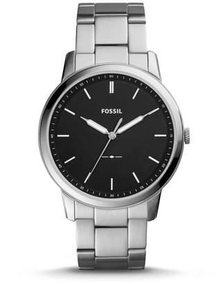 Fossil The Minimalist Slim Three-Hand Stainless Steel Watch