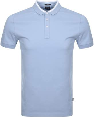 HUGO BOSS Penrose 17 Polo T Shirt Blue