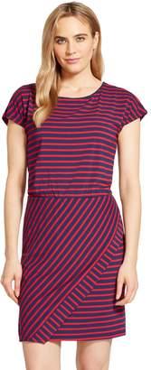 Izod Women's Striped T-Shirt Dress
