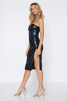 Nasty Gal Don't Stop Me Now Sequin Dress
