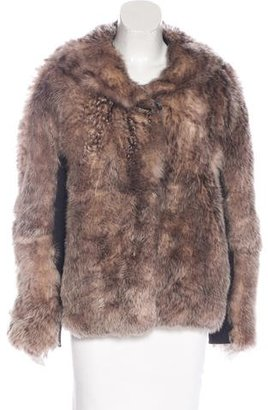 UGG Australia Leather-Trimmed Shearling Jacket $295 thestylecure.com